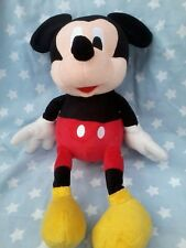 LARGE Disney MICKEY MOUSE SOFT PLUSH TOY approx 40 cm tall fantastic condition