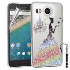 Fundas y carcasas pictóricas de silicona/goma para teléfonos móviles y PDAs LG