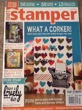 Craft Stamper Magazine April 2014