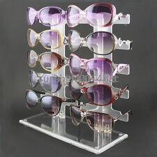 Brillenständer für 10 Brillen Brillenpräsenter Brillendisplay v&