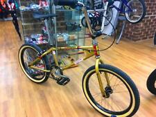 Mongoose 1981 Vecchia Scuola Bmx Bicicletta Personalizzata color oro metallico/nero