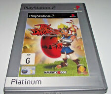 Jak and Daxter The Precursor Legacy PS2 (Platinum) PAL *Complete*