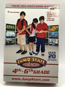 Jumpstart Advanced 4th-6th Grade (for PC) *New,Sealed*