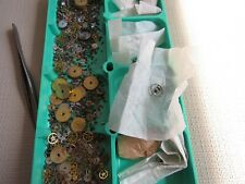LEMANIA S27 ASSORTED MOVEMENT PARTS (BASE FOR CH27 OMEGA 320 321) PRE MOON