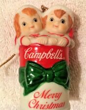Campbell's Soup Porcelain 1992 Kids in a Can Collectible Ornament