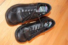 Women's Dansko black Leather lace up casual shoes Sz37 US6.5-7 Excellent cond.