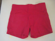 New Vintage 1980's  Coaches Shorts High Waist Softball Shorts Red Size Mens XL