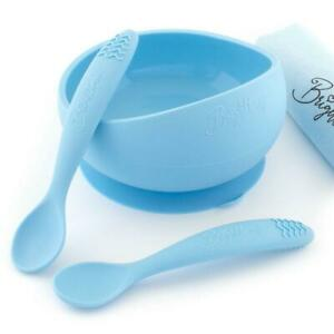 Suction Bowl Set with Teething Spoons theOne™ - PACIFIC