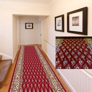 Läufer Teppichläufer Meterware Klassisch Orientalisch Sehr Robust Rot 100 x 440