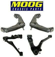 For Chevrolet GMC Hummer Front Upper & Lower Control Arm & Ball Joint Moog Kit