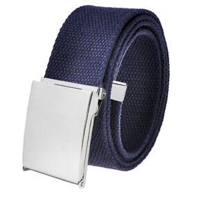 Men's Cut to Fit Outdoor Tactical Golf Belt 3.8 Width Silver Flip Top Buckle