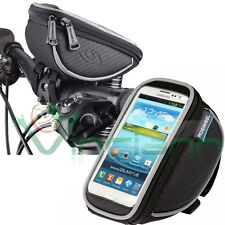Borsa custodia ROSWEEL NERA touch screen bici per HTC One M7 M8 mini M9 H14M