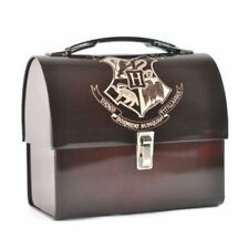 Harry Potter Hogwarts Crest Tin Domed Tote Lunchbox From Half Moon Bay