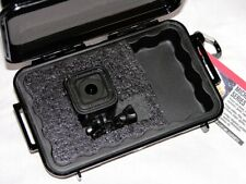 New Pelican ™ 1040 Black case fits GoPro Hero7 6 5 4 Session Camera + nameplate