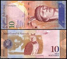 VENEZUELA 10 Bolivares 2007 Pick 90a  SC / UNC
