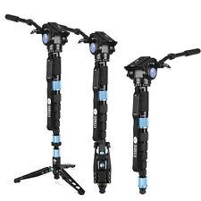 Sirui P326S Carbon Fiber Monopod Tripod For Camera VH10 Hydraulic Head 6 Joint