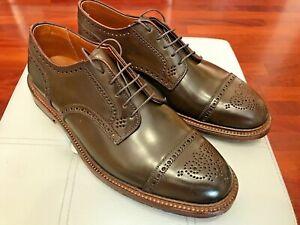 RARE💥Alden💥CIGAR SHELL CORDOVAN💥Made in USA💥Derby Brogue shoes US 10.5