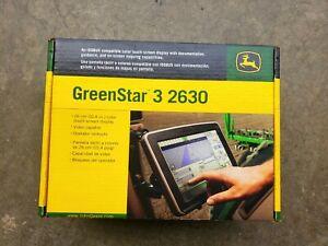 John Deere Greenstar GS3 2630 Display Monitor w/ AutoTrac SF2 Activation