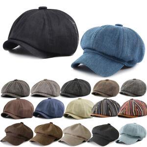 Cotton Newsboy Cap Bucket Hat - Winter Fishing Fisher Beach Festival Creative