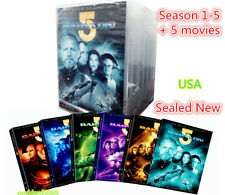Babylon 5 The Complete Collection Series 1,2,3,4,5- w/ Bonus 5 Movie Set Sealed
