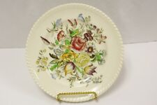 Vintage Johnson Brothers Windsor Ware Garden Bouquet China Salad Plate