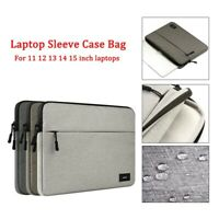 "Waterproof Laptop Sleeve Pouch Bag Computer Case for Macbook HP 11""13""15""15.6"""