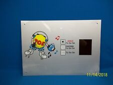 Data East Hop A Tic Tac Toe Ticket Redemption Game Decal Sign