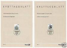 BRD 1997: Dresden und Bremen! SWK-Ersttagsblätter der Nr. 1936+1937! Rabatt!