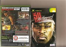 50 CENT BULLETPROOF XBOX / X BOX RATED 18