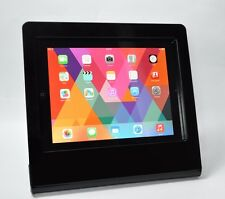 iPad Air Black Acrylic Anti-Theft Stand for Kiosk, POS, Trade Show Square Reader