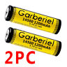 LOT 3.7V 1200mAh Li-ion Rechargeable 14500 Battery Cell For Flashlight Torch USA