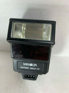 Genuine Minolta Maxxium 2800 AF Flash Without Pouch - For Minolta Maxxum 7000