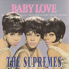 "CD ALBUM CARTONNE  THE SUPREMES   ""BABY LOVE"""