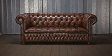 Chesterfield Polster Sofa Couch DESIGNER Garnitur 3 Sitz Couchen klassisch