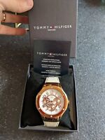 Tommy Hilfiger Ladies Watch • Rose Gold / white £165 • silicone strap