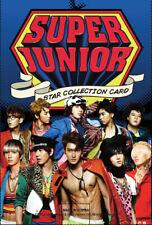 Super Junior - Star Collection Card 10 Pack Set (50 pcs) 1st PRESS EDITION