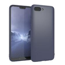 Für Huawei Honor 10 Hülle Soft Case Silikon Cover Schutz Tasche Slim Matt Blau
