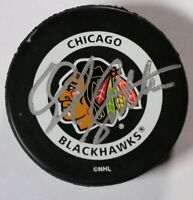 Darryl Sutter Chicago Blackhawks Signed Autographed Game Puck NHL Hockey Auto