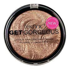 Technic Get Gorgeous Highlighting Bronze Face Powder Cheek Contour Highlighter!