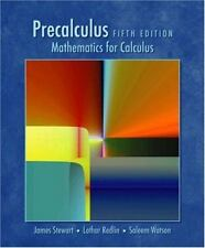 Precalculus : Mathematics for Calculus by Lothar Redlin, James Stewart and Sale…