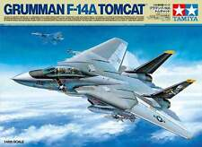TAMIYA 1:48 KIT AEREO GRUMMAN F-14A TOMCAT LUNGHEZZA 39,8 CM  ART 61114