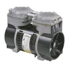 """Vacuum Veneer Aeration Pump / Compressor 3-4CFM 24""""VAC Mounts/cord Free S&H"""