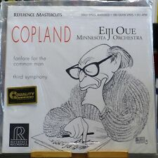 Eiji Oue, Copland - Fanfare For The Common Man-Third Symphony / LP half speed US