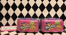 Shopkins in a Lunch Box (2) Sealed Packs New 2 Per Pack Surprise Cases