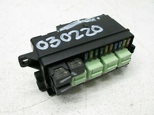 04-08 MINI COOPER S R50 R52 R53 ENGINE BAY FUSE BOX RELAY OEM 030220