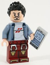 LEGO AVENGERS IRON MAN TONY STARK MINIFIGURE - MADE OF GENUINE LEGO PARTS