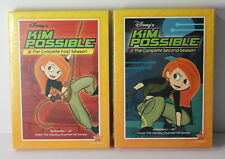 Kim Possible Disney Channel Complete Season 1 + 2 on DVD NEW SEALED
