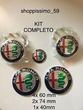 7x pz Kit Completo ALFA ROMEO per MiTo 147 156 159 166 Giulietta Spider GT