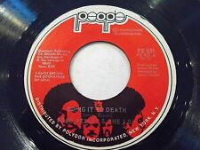 Fred Wesley & The J.B.'s Doing It To Death / Everybody Got Soul 45 Vinyl Record