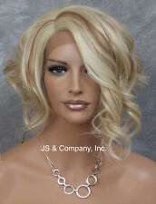 Heat Safe Lace Front Wig Curly Wavy Asymmetrical for the Bold  FLGA 613-27